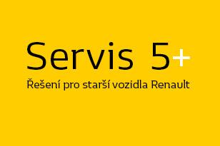 Servis 5+ pro starší vozy